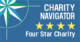 Charity Navigator 4-star Charity badge