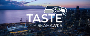 Taste of the Seahawks logo