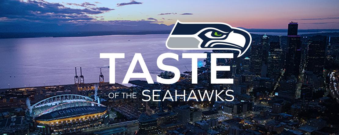 Taste of the Seahawks logo
