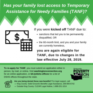Some of TANF's Harshest Policies Set to be Repealed in